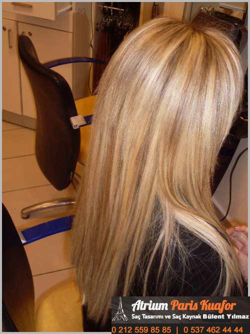 saç parlaklığı