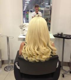 Halka Saç Kaynak Öncesi-Sonrası