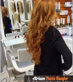 Doğal Görünümlü Uzun Saç Kaynak