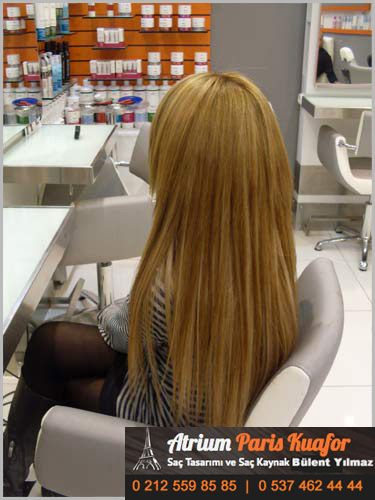 saç kaynak uygulaması
